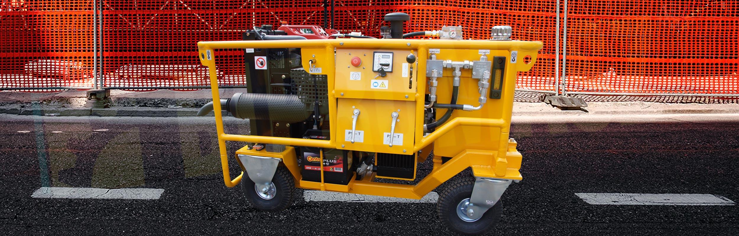 Hydrauliczny Agregat Spalinowy HAS-18 produkcji firmy Bipromasz