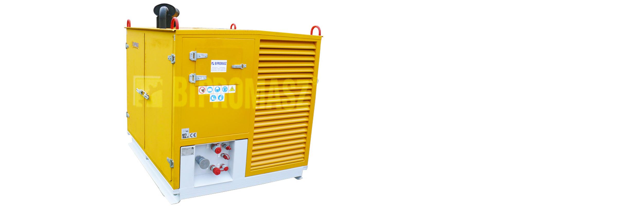 Hydrauliczny Agregat Spalinowy HAS-50 produkcji firmy Bipromasz