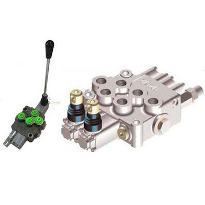 Rozdzielacz hydrauliczny HC-M45<br> max 45 l/min, max 350 bar