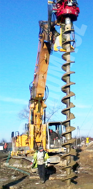 OWK-3600M excavator drilling equipment
