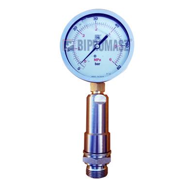 Manometr z separatorem – pomiar ciśnienia płuczki bentonitowej i iniektu cementowego