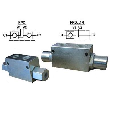 Zawór zwrotny sterowany typ FPD