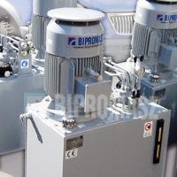 Agregat hydrauliczny elektryczny typu AHE-..B wykonywany w firmie Bipromasz
