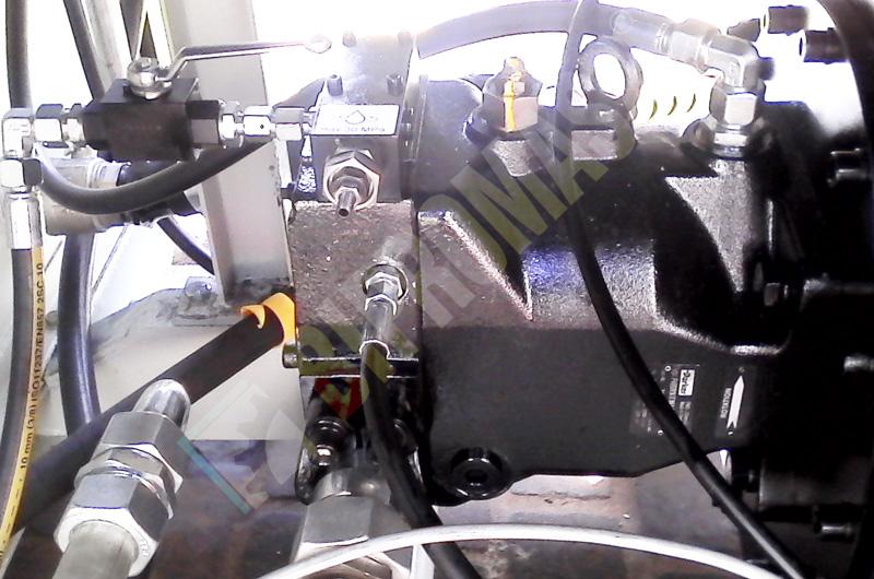 Instalacja hydrauliczna agregatu hydraulicznego