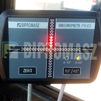 Inklinometr – elektroniczna kontrola pionowości i poziomu