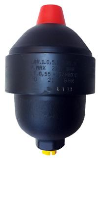 LAV.1.0,5 SAIP  Akumulator hydrauliczny przeponowy