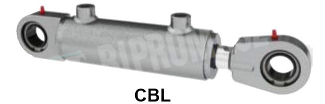 Siłownik hydrauliczny tłokowy dwustronnego działania CBL