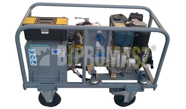 Agregat hydrauliczny wysokoprężny typu HAS-6D (Diesel)
