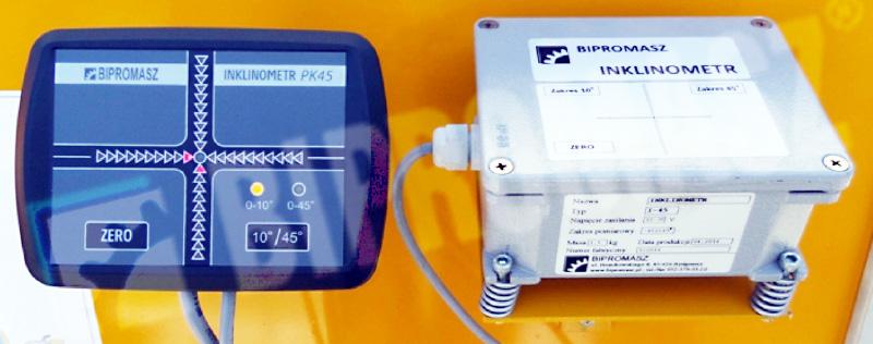 Inklinometr elektroniczny z wyświetlaczem diodowym – zestaw inklinometryczny IPK45