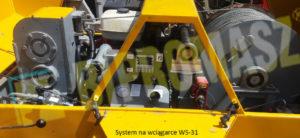 System na wciągarce ws-31