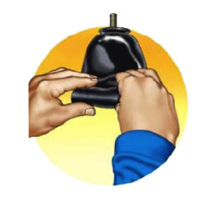 Wymiana pęcherza w akumulatorze hydraulicznym krok 4