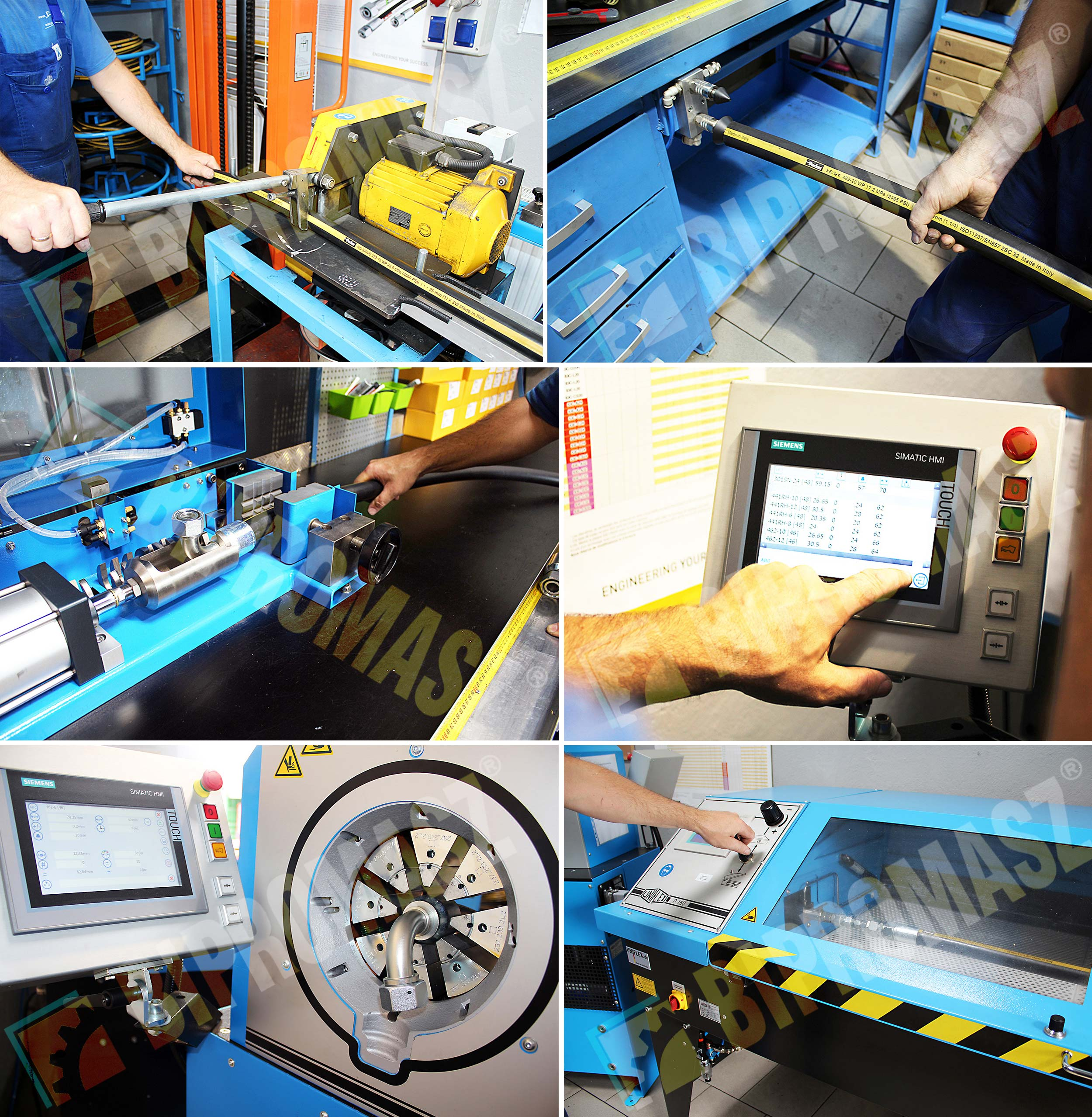 Produkcja przewodów hydraulicznych w firmie Bipromasz