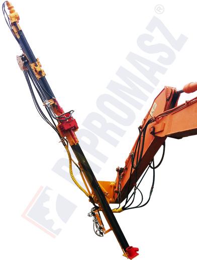 Osprzęt wiertniczy koparkowy masztowy typu OKM-100