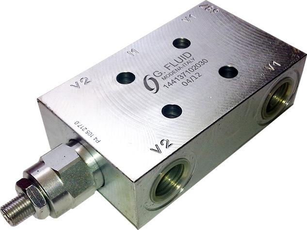 Pojedynczy zawór hamujący VBG-SE-F1-30-PLR