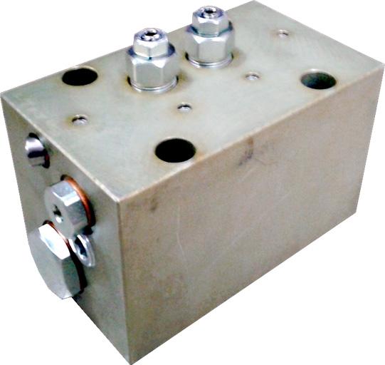 Rozdzielacze hydrauliczne autorewersyjne