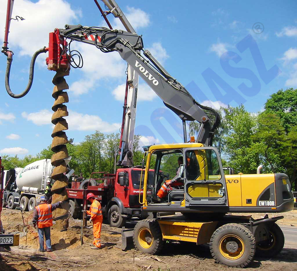 OWK type excavator drilling equipment