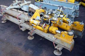 Hydrauliczna wiertnica pozioma HWP-33 - sprzęt używany