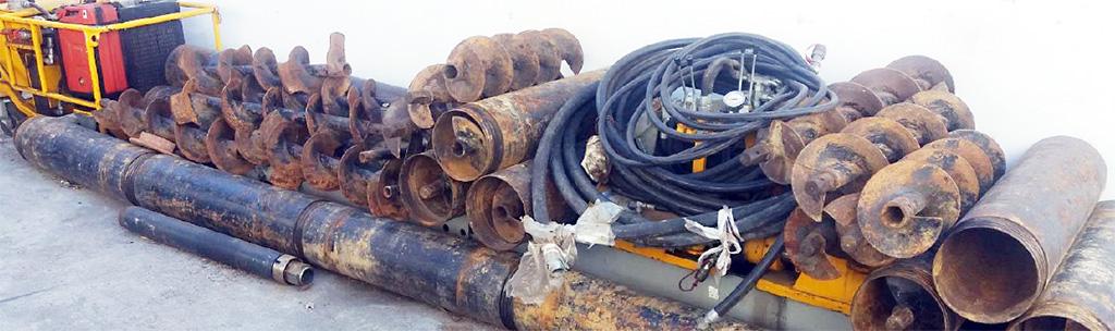 Hydrauliczna wiertnica pozioma HWP-33 - maszyna używana
