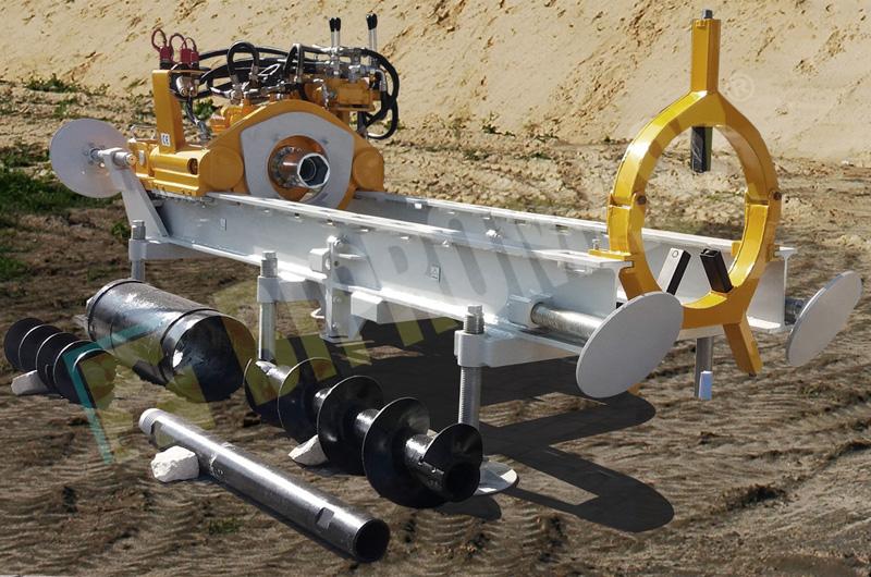 Wiertnica pozioma sterowana WPS-40 - sprzęt wiertniczy używany