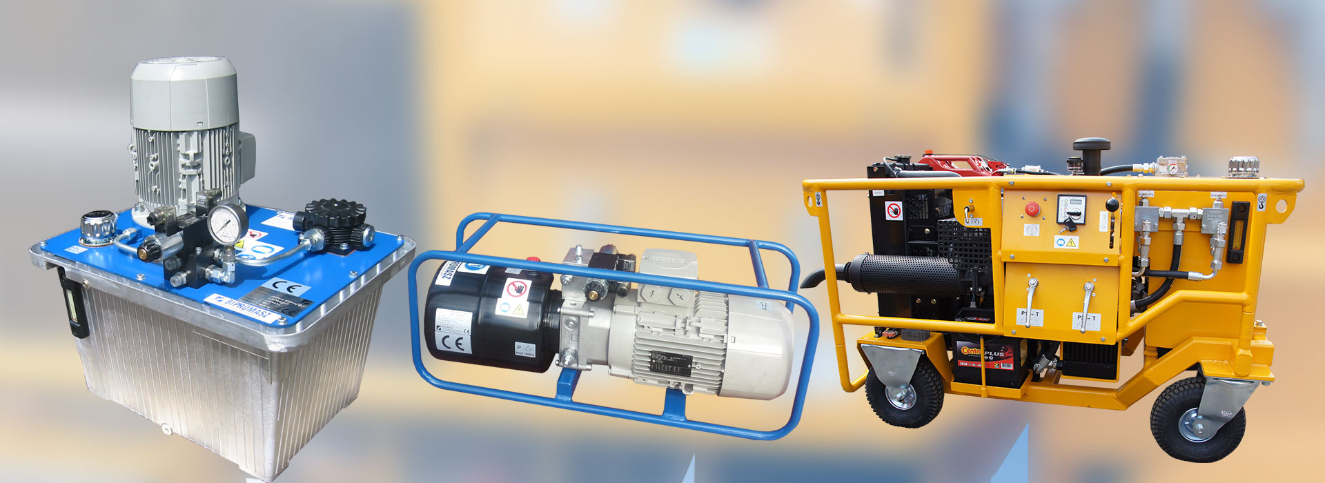 Produkujemy agregaty hydrauliczne