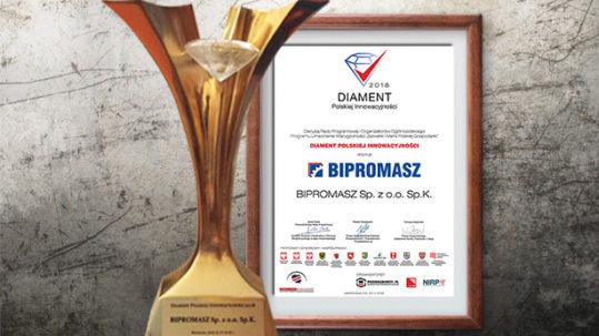 Bipromasz Diamentem Polskiej Innowacyjnosci 2018