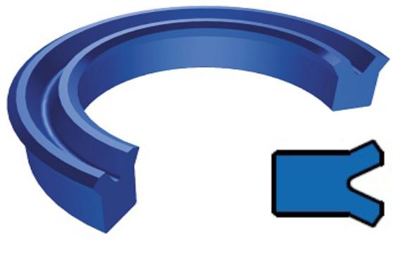 Uszczelnienia tłokowe - pierścienie TTU