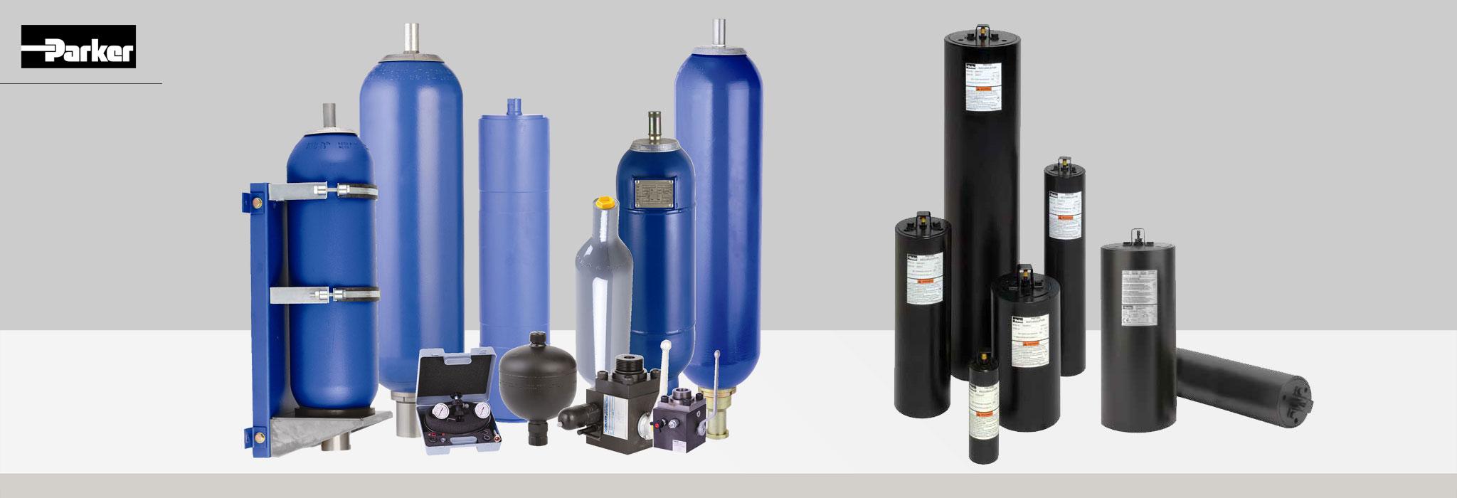 Bipromasz oferuje akumulatory hydrauliczne firmy Parker