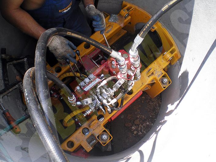 Kompaktowa wiertnica ślimakowa WPS-30S