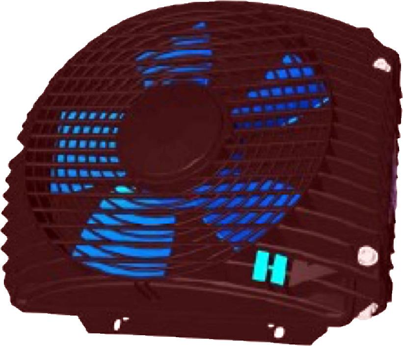 Powietrzna chłodnica oleju hydraulicznego ASA-0075