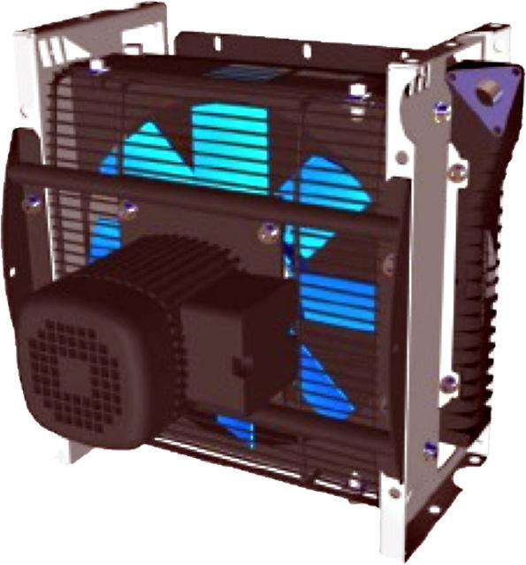 Powietrzna chłodnica oleju hydraulicznego ASA-0115 230/400VAC