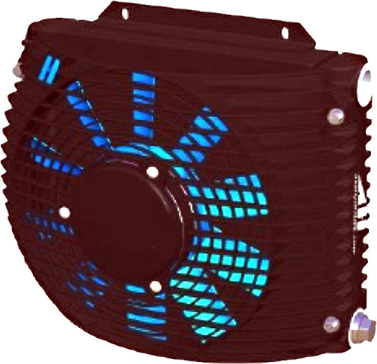 Powietrzna chłodnica oleju hydraulicznego ASA-TT06
