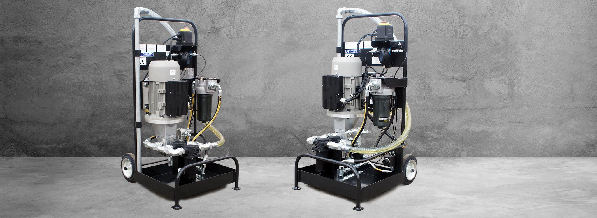 Agregat filtracyjny AEF-40p - Bipromasz