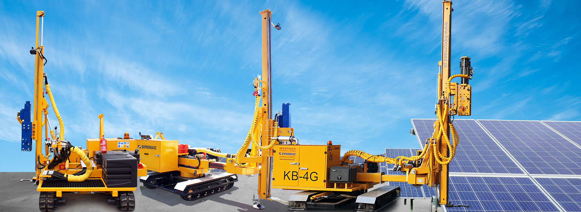 <strong>Kafary samojezdne do wbijania słupów pod bariery energochłonne</strong>
