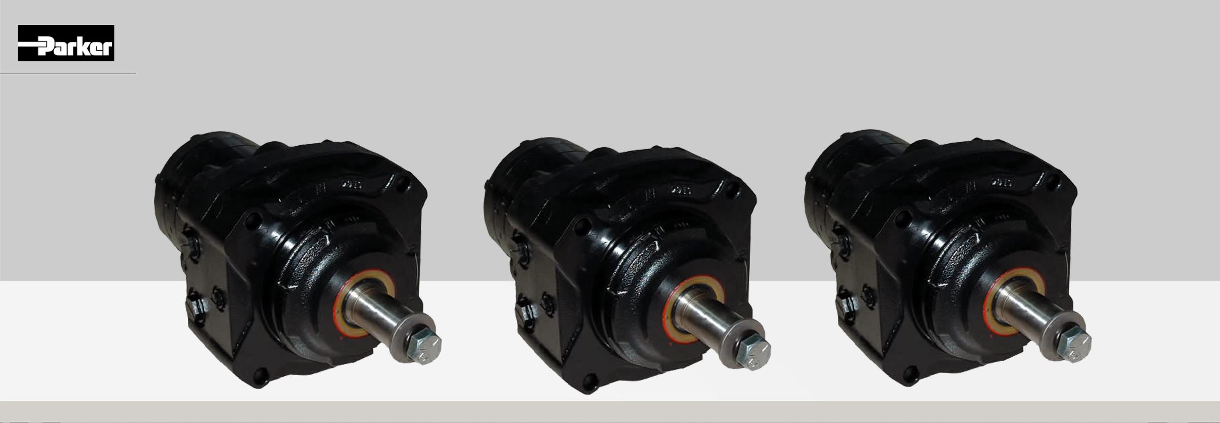 Silnik Hydrauliczny Gerotorowy typu BG z hamulcem - Parker Store - Bipromasz - Bydgoszcz