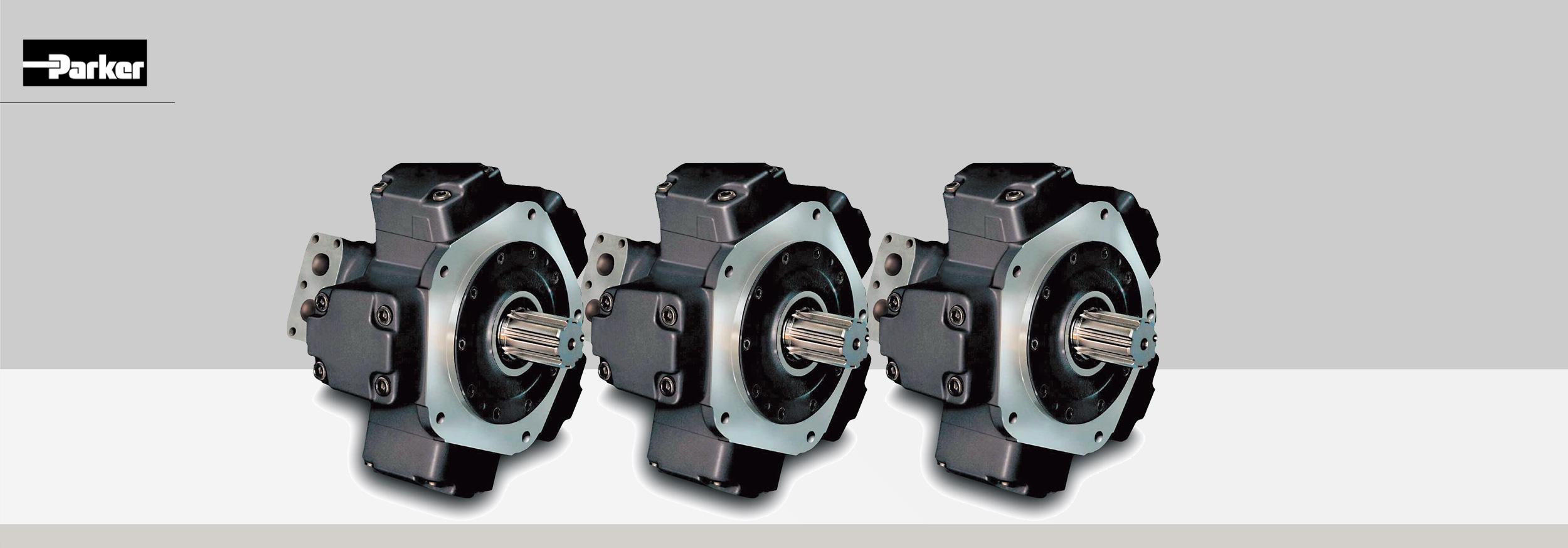 Silnik hydrauliczny tłokowy promieniowy typu MR