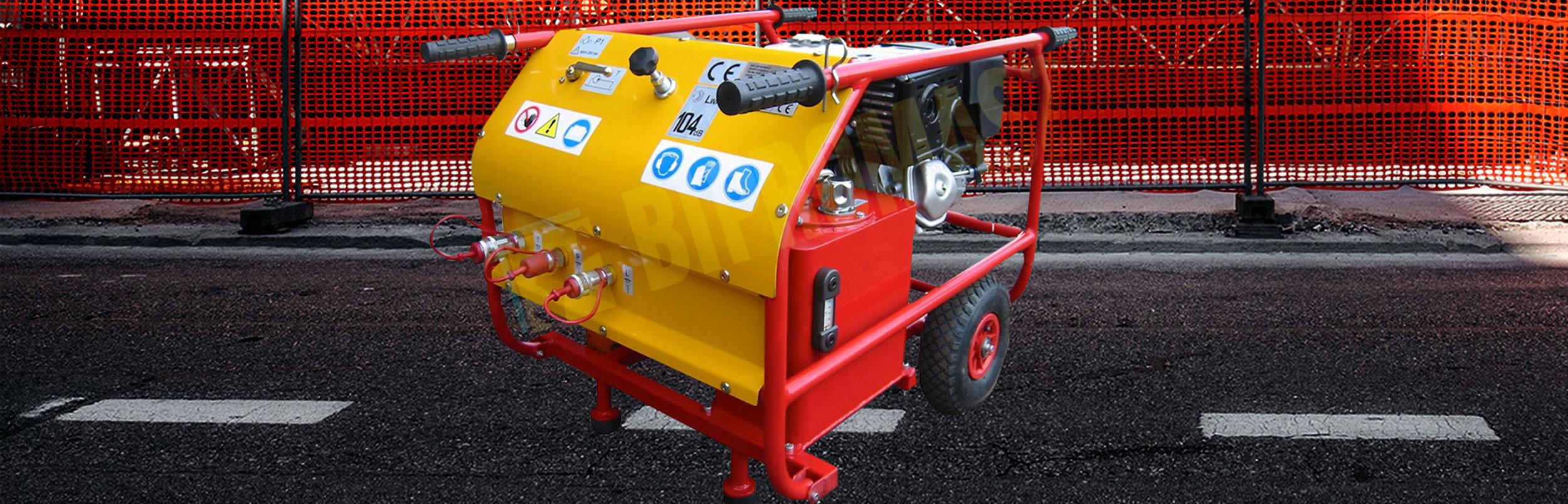 Hydrauliczny Agregat Spalinowy HAS-9