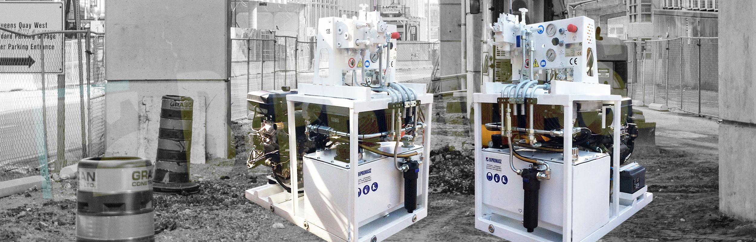 Agregat Hydrauliczny Spalinowy HAS-9D z silnikiem Diesla