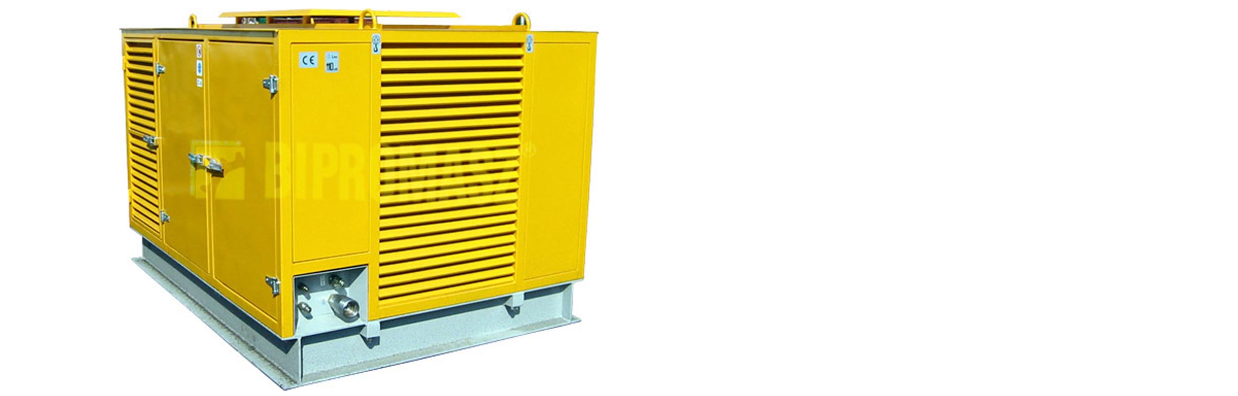 Hydrauliczny Agregat Spalinowy HAS-120 produkcji firmy Bipromasz