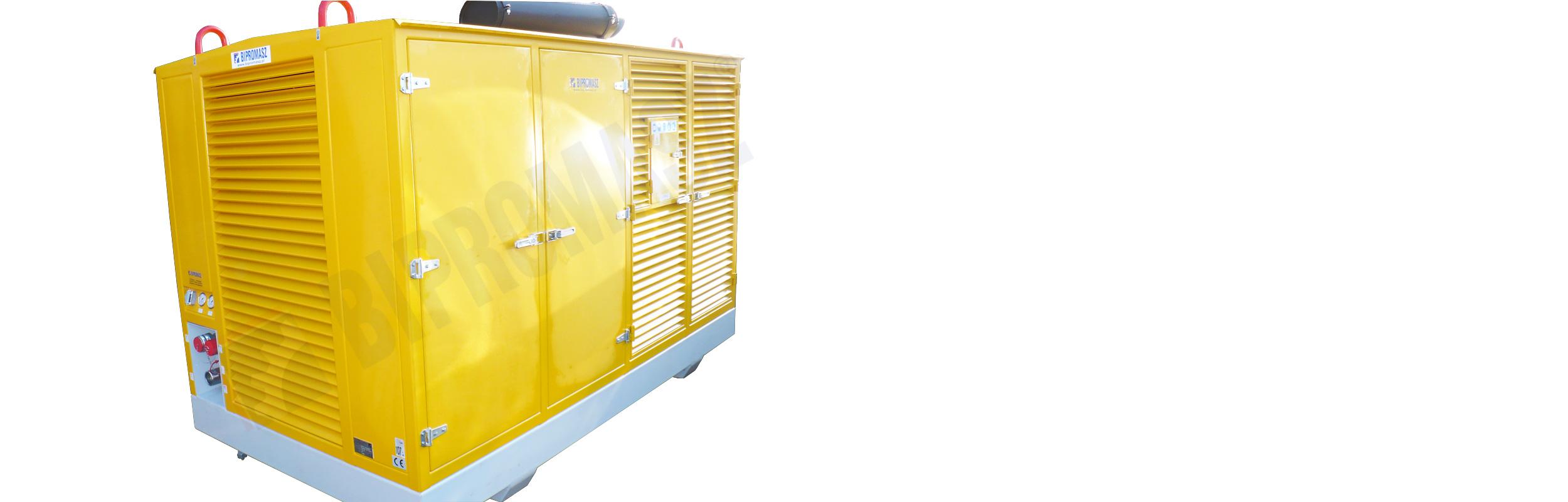 Hydrauliczny Agregat Spalinowy HAS-220 produkcji firmy Bipromasz