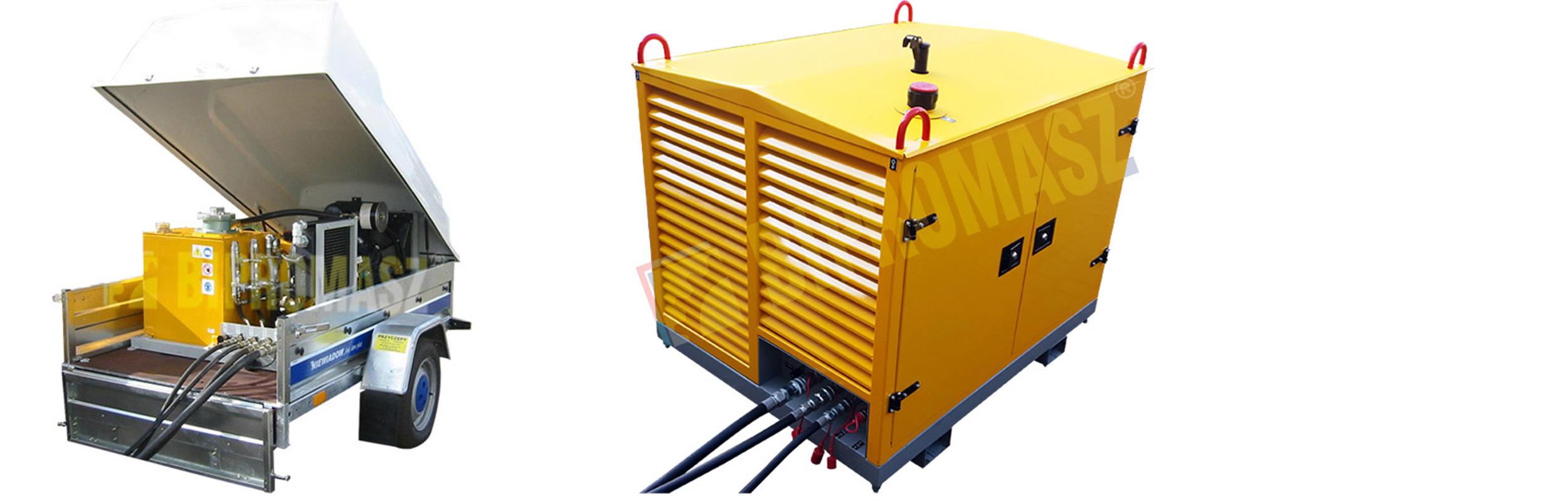 Hydrauliczny Agregat Spalinowy HAS-25 produkcji firmy Bipromasz