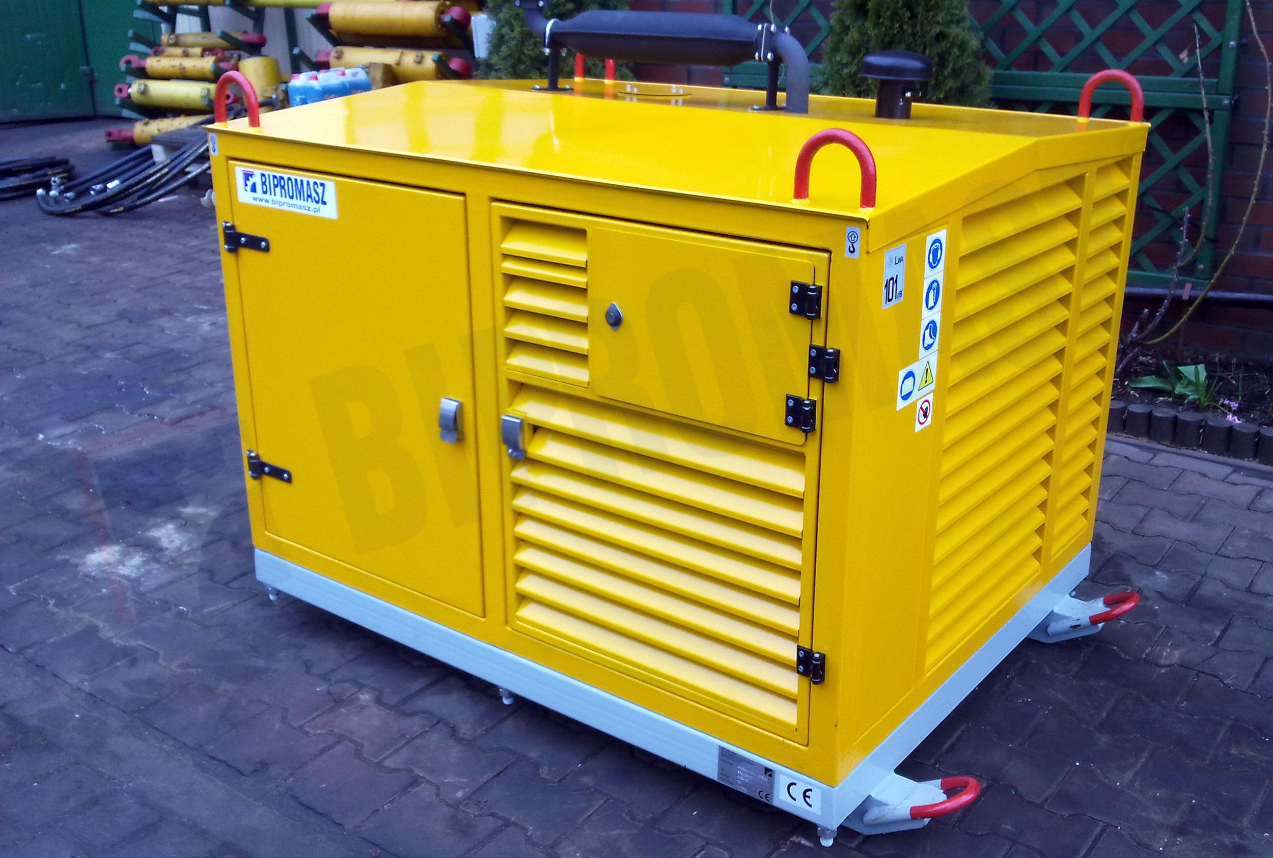 Hydrauliczny Agregat Spalinowy HAS-33 produkcji firmy Bipromasz