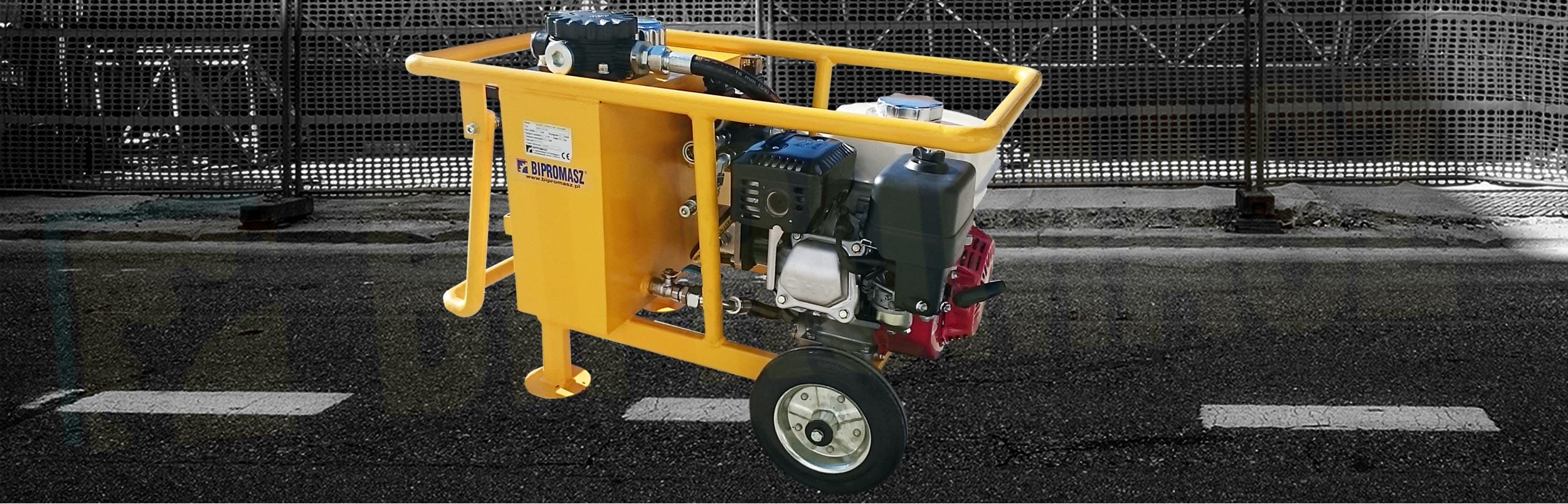 Hydrauliczny Agregat Spalinowy HAS-4 produkcji firmy Bipromasz
