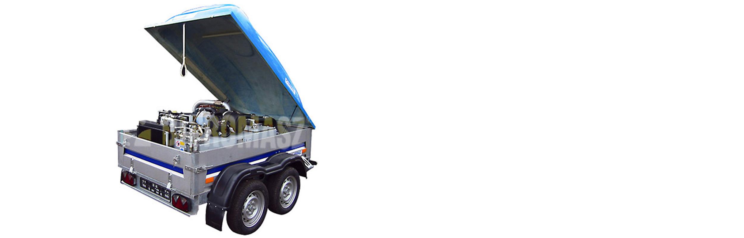 Hydrauliczny Agregat Spalinowy HAS-70 produkcji firmy Bipromasz