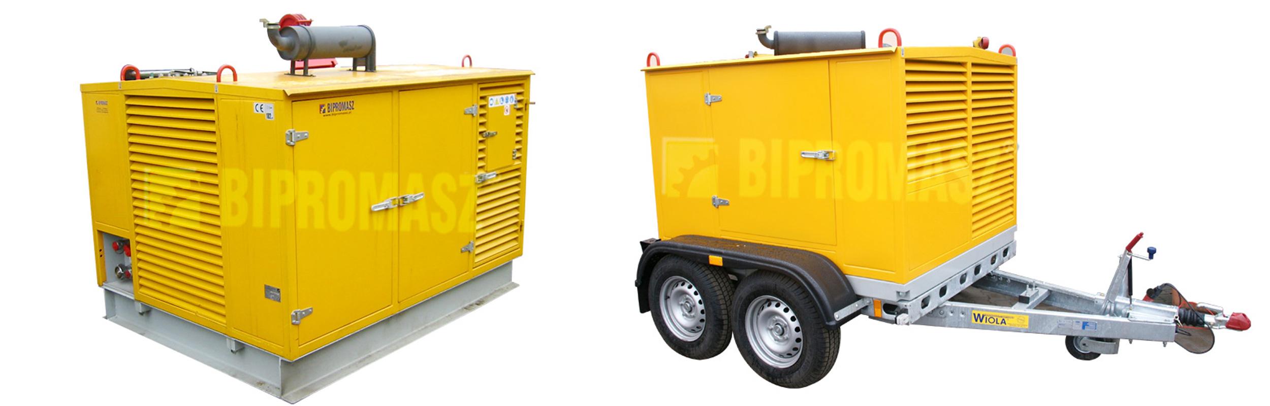 Hydrauliczny Agregat Spalinowy HAS-90 produkcji firmy Bipromasz