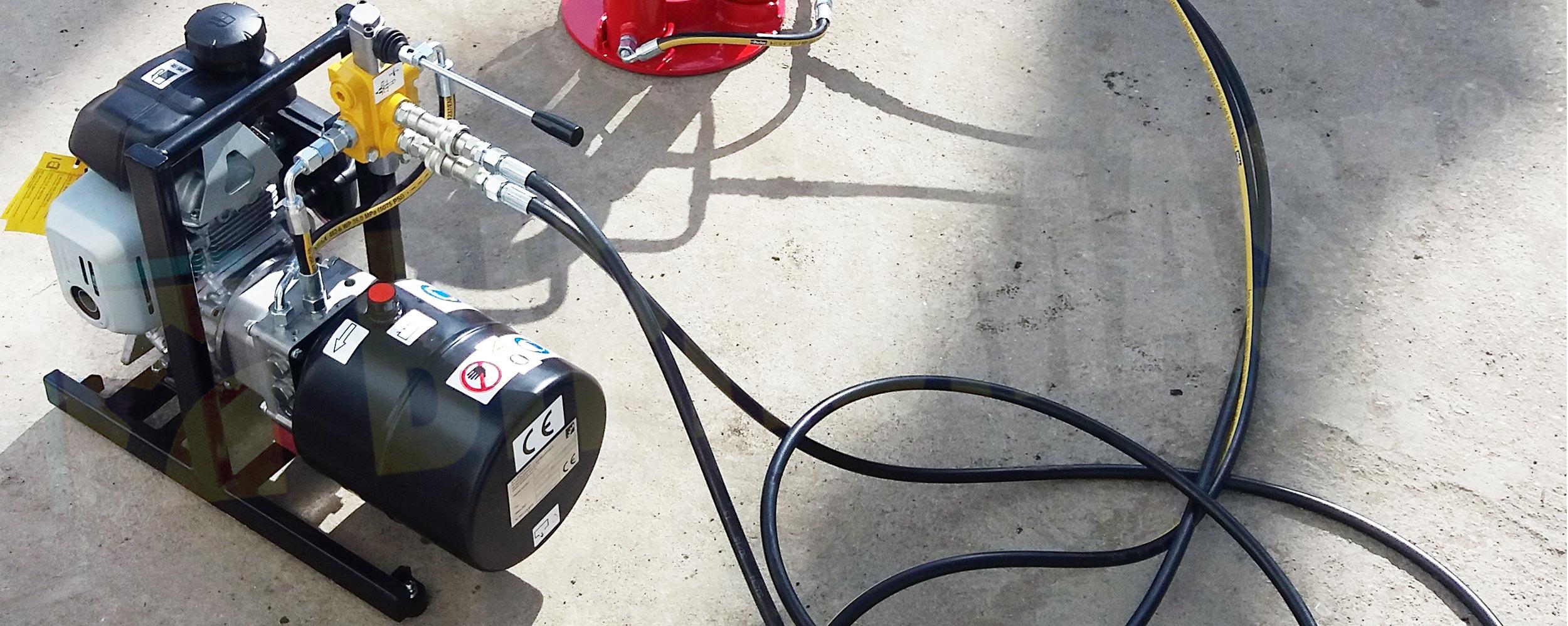 Hydrauliczny Agregat Spalinowy HAS-2 produkcji firmy Bipromasz