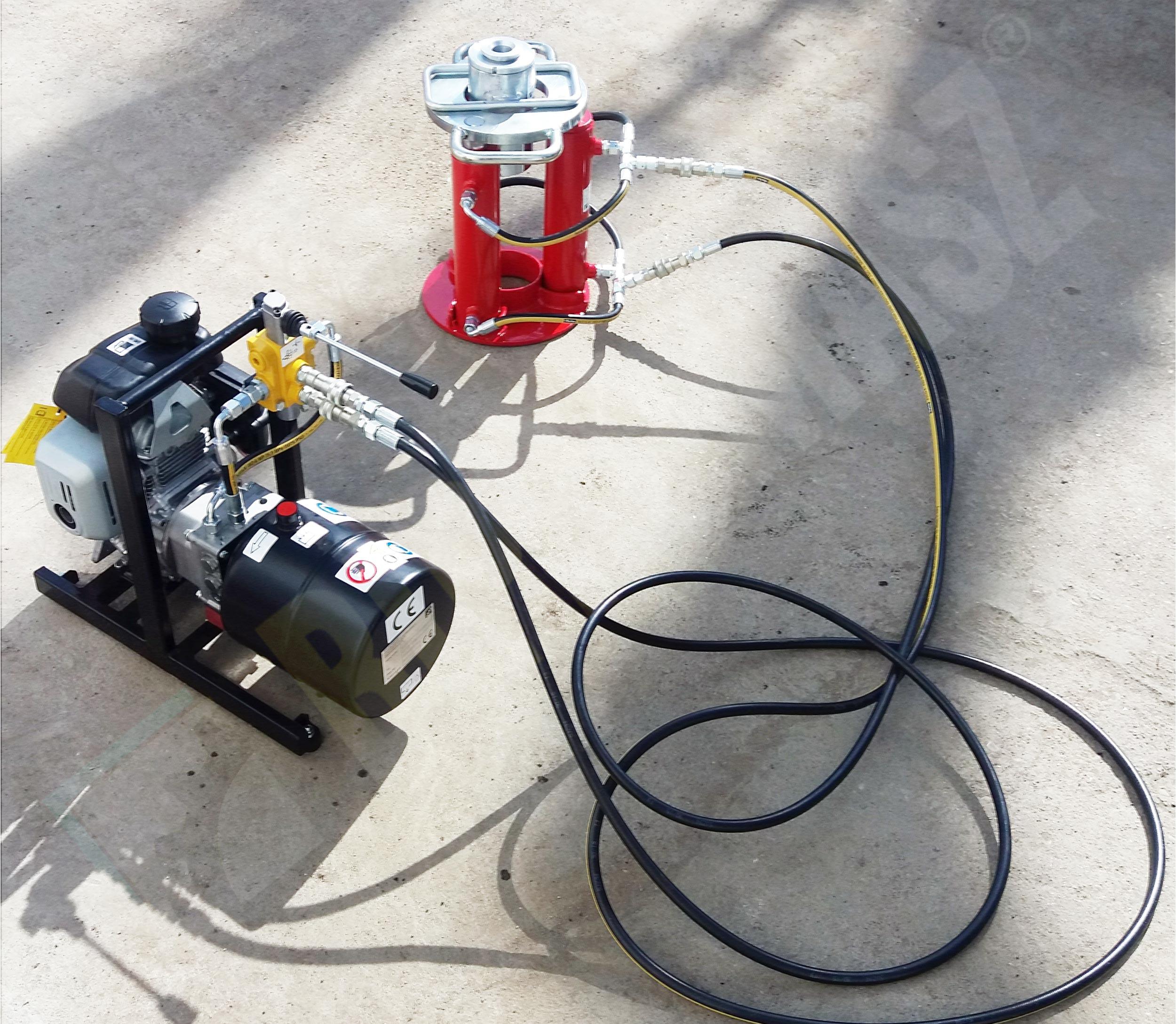 Przykład zastosowania – geotechnika – badanie gruntu sonda dynamiczna