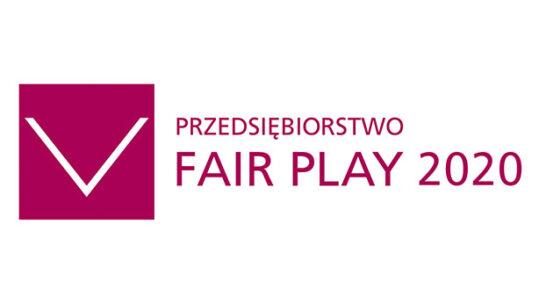 """Bipromasz """"Przedsiębiorstwem Fair Play"""" 2020"""