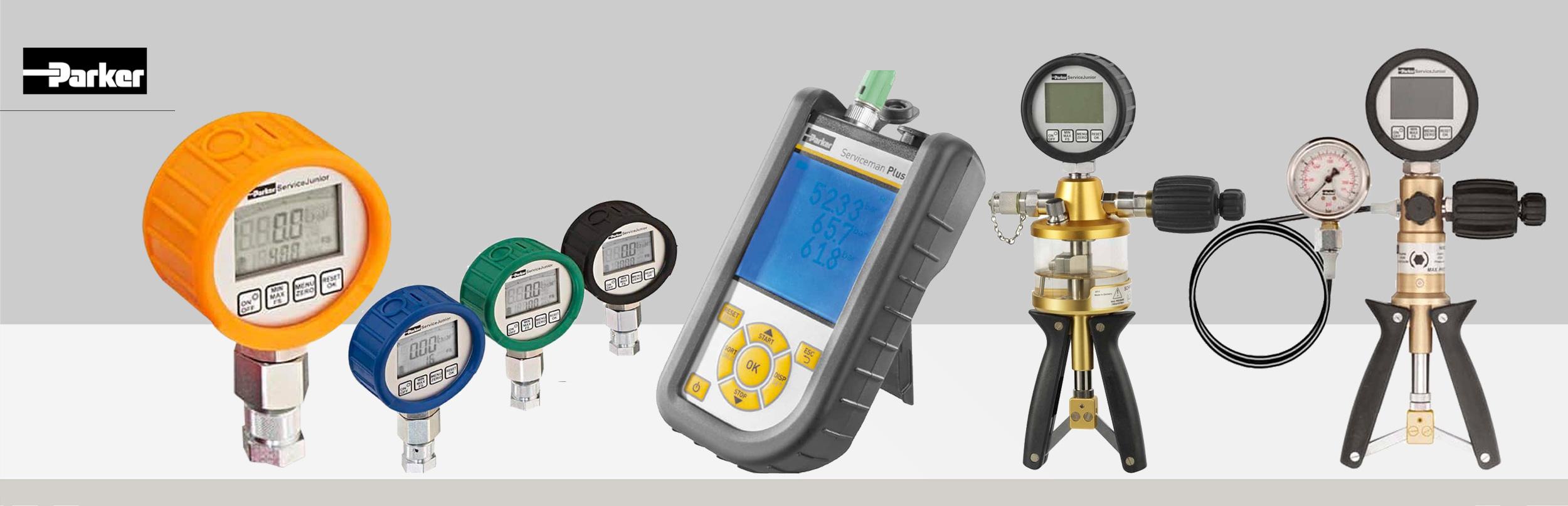 Manometr elektroniczny diagnostyczny