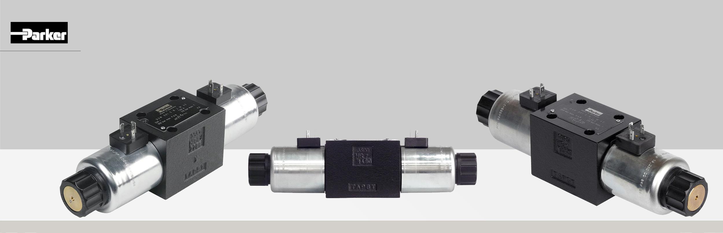 Rozdzielacze hydrauliczne elektrycznie sterowane typ D3W