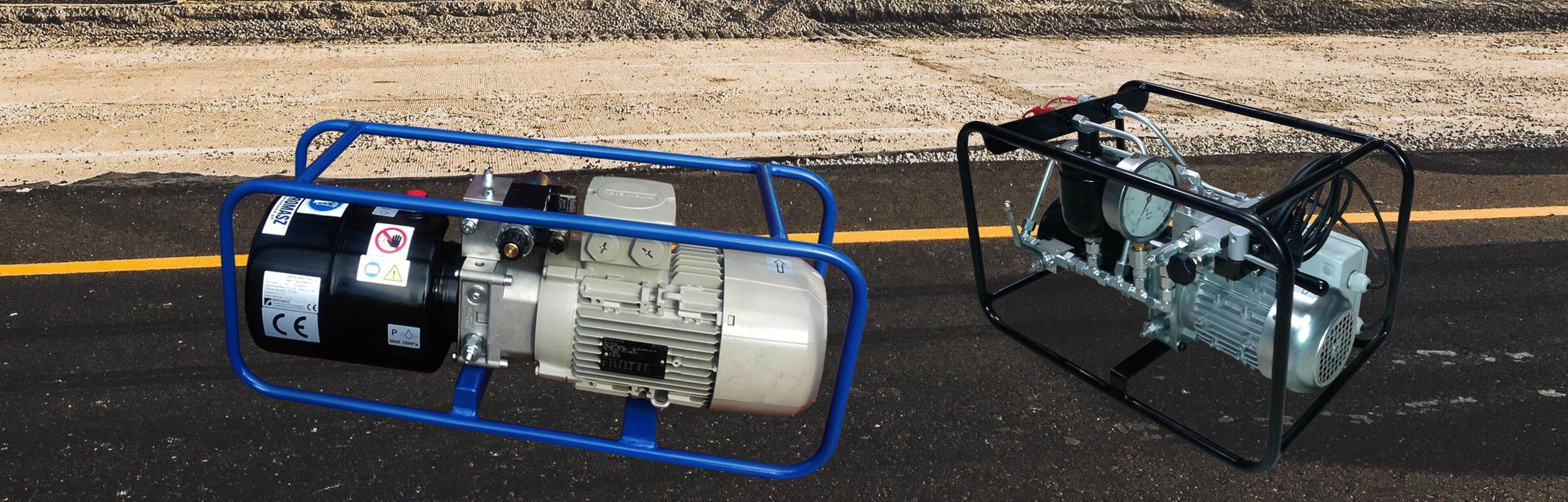 Kompaktowe agregaty hydrauliczne firmy Bipromasz